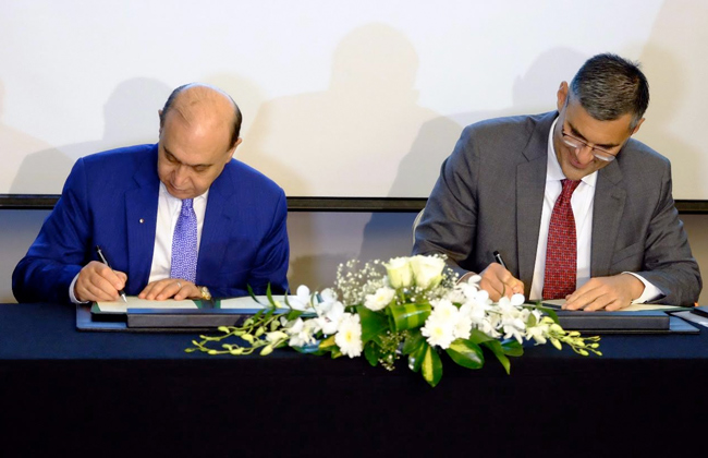 A partnership between the economic Suez Canal and Agility Kuwait to