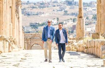 زيارة الأمير وليام للأردن تضمنت منطقة أثرية زارتها كيت وهي طفلة