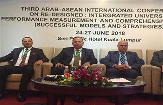 رئيس جامعة كفر الشيخ يشارك في المؤتمر العربى الثالث بماليزيا| صور