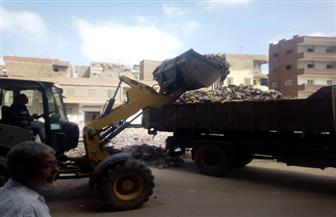 رفع 200 طن قمامة من شوارع حي ثان الزقازيق   صور