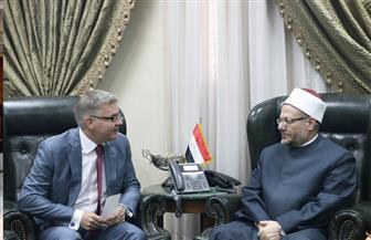 المفتي يستقبل السفير الكندي بالقاهرة لبحث تعزيز التعاون الديني