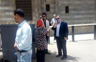 لجنة من محافظة القاهرة لمعاينة كوبري الأزهر وإعادة بنائه  صور