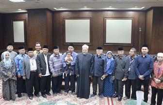المفتى يستقبل وفدا من مجلس العلماء الإندونيسي لبحث أوجه تعزيز التعاون| صور