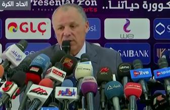 أبوريدة: كوبر المسئول عن إقامة المعسكر في جروزني