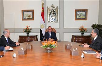 الرئيس السيسي يستقبل وزير خارجية قبرص السابق لبحث الربط الكهربائي بين البلدين  صور