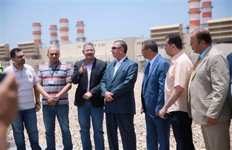 محافظ كفرالشيخ يتفقد محطة كهرباء البرلس بتكلفة 2.2 مليار يورو | صور