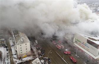 إخلاء مركز تجارى فى وسط موسكو لنشوب حريق