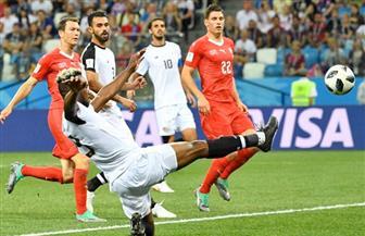 سويسرا تتقدم علي كوستاريكا بهدف في الشوط الأول