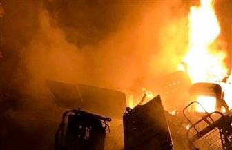 مقتل 15 في حريق بسوق في نيروبي