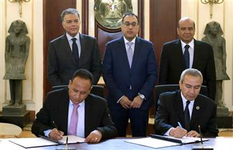 رئيس الوزراء يشهد توقيع اتفاقية بين النقل والسكة الحديد والهيئة العربية للتصنيع