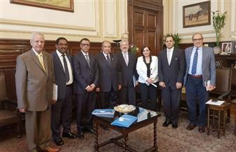 """وزير الزراعة يستقبل مسئولي """"الفاو""""  لبحث التعاون بين الجانبين"""