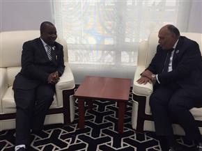 وزير الخارجية يؤكد لنظيره البوروندي دعم مصر بلاده