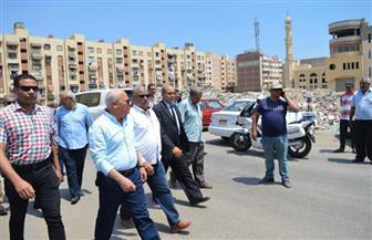 محافظ بورسعيد يوجه رؤساء الأحياء بإزالة مغاسل السيارات غير القانونية ورفع الإشغالات