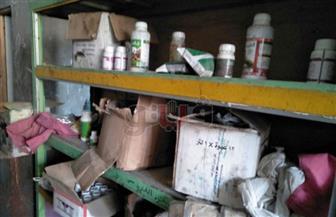 ضبط محل مبيدات زراعية بدون ترخيص بالشرقية