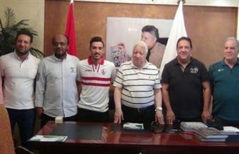 مرتضى منصور يعلن تعاقد الزمالك رسميا مع إبراهيم حسن نجم الإسماعيلي | فيديو