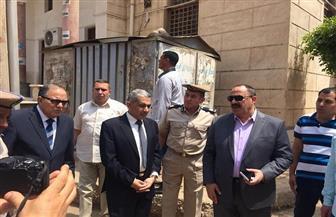 مساعد وزير الداخلية لوسط الدلتا ومدير أمن كفرالشيخ يتفقدان عددا من لجان امتحانات الثانوية | صور