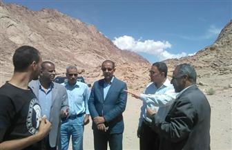 رئيس قطاع الآثار الإسلامية والقبطية يتفقد تطوير منطقة آثار دير سانت كاترين | صور