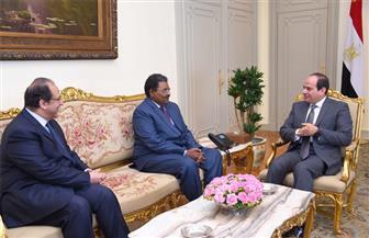 الرئيس السيسي يستقبل رئيس المخابرات السوداني