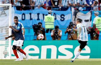 دي ماريا يحرز هدف التعادل للأرجنتين في مرمى فرنسا