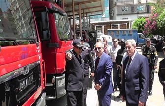 مدير أمن الدقهلية يتفقد التمركزات الأمنية بالمنصورة لتأمين احتفالات 30 يونيو | صور