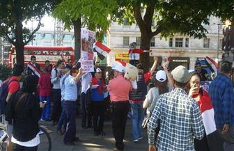 "المصريون في لندن يحيون ذكرى 30 يونيو""| صور وفيديو"