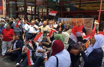 المصريون يحتفلون بذكرى ثورة 30 يونيو في نيويورك | صور وفيديو