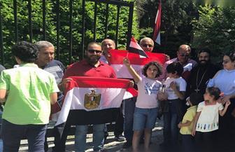 المصريون في بروكسل يحتفلون بذكرى ثورة 30 يونيو | صور وفيديو