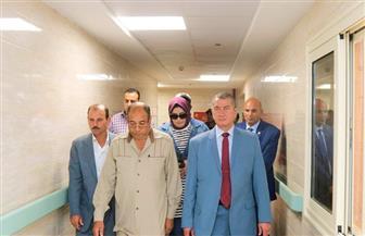 محافظ كفرالشيخ يزور مستشفى برج البرلس المركزي ويحيل المقصرين للتحقيق  فيديو وصور