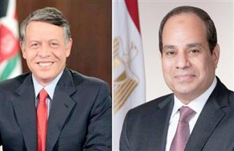الرئيس السيسي يجري اتصالا بعاهل الأردن للتباحث حول آخر مستجدات الأوضاع الإقليمية