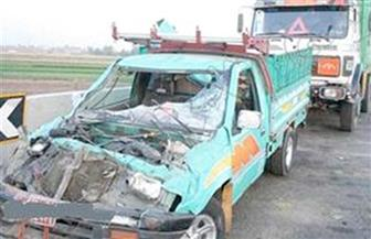 مصرع 2 وإصابة 7 مواطنين فى حادث بالبحيرة