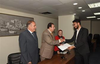 محافظة الإسكندرية تكرم المشاركين في تنظيم المنتدى الأول لشباب المدينة   صور