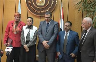 سعفان: بحث العلاوة للقطاع الخاص بعد عيد الفطر.. و٢٥ ألف قيادة جديدة بعد الانتخابات | صور