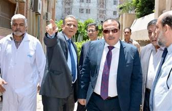 رئيس جامعة طنطا يطالب بتطوير منظومة العمل داخل المعمل المركزي | صور