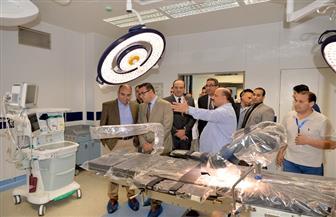 رئيس جامعة المنصورة يتفقد تطوير وتحديث جناح العمليات بمركز جراحة الجهاز الهضمي