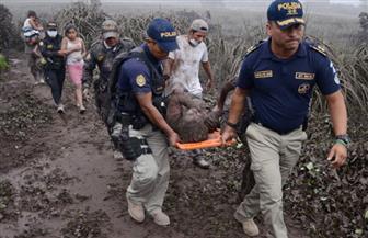 استمرار ثوران بركان جواتيمالا وسط عمليات البحث عن ضحايا