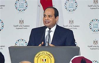 """الرئيس السيسي لـ""""المصريين"""": لن ننجح إلا بكم.. وملفا """"التعليم والصحة"""" قضية القضايا"""
