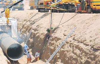 وفد هيئة تنمية الصعيد يتفقد المشروعات التنموية في المنيا