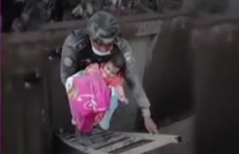 """إنقاذ رضيعة بقيت أياما """"تحت رماد بركان"""" جواتيمالا"""