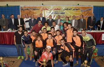 سلطان يكرم أبطال الإسكندرية الصاعدين لدوري المحترفين والممتاز| صور