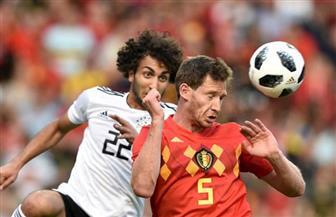 مروان فيلايني يحرز الهدف الثالث لبلجيكا