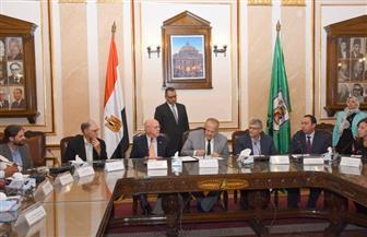 الخشت يوقع خطاب نوايا مع تحالف الجامعات الأمريكية لإنشاء مركز للتميز العلمي في مجال الزراعة  صور