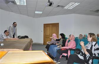 رئيس جامعة حلوان يؤكد أهمية رفع التصنيف الدولي للجامعة| صور