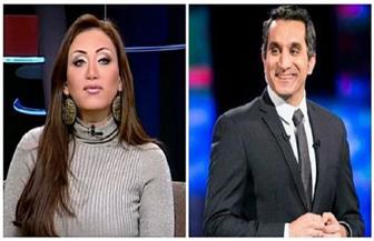 ريهام سعيد: باسم يوسف قعدني في البيت