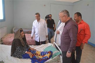 محافظ المنيا يحيل 50 طبيبا بمستشفي العدوة المركزي للتحقيق