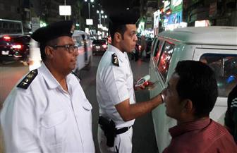 حكمدار الجيزة يقود حملة لإزالة الإشغالات بفيصل والهرم| صور