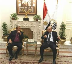 رئيس الطائفة الإنجيلية يهنئ محافظ القاهرة بعيد الفطر |صور