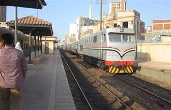 """السكة الحديد: انتظام حركة مسير القطارات بخطوط الوجهين """"القبلى والبحري"""""""