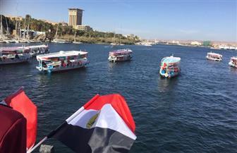 وزير النقل ومحافظ أسوان يعقدان اجتماعا لمراجعة إجراءات تسيير حركة المراكب النيلية