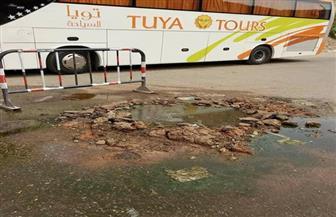 """استجابة لما نشرته """"بوابة الأهرام"""".. محافظ أسوان يبحث أزمة مياه الصرف الصحي في محيط معبد فيلة"""