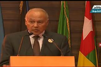 """أبو الغيط: الجامعة العربية تؤيد مبادرة """"اسكات البنادق"""" فى ربوع إفريقيا خلال عام 2020"""